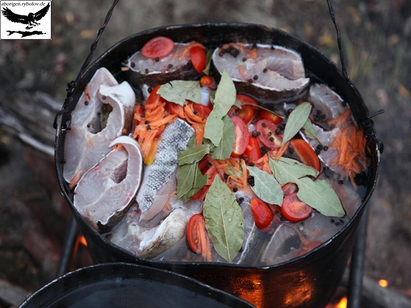 что можно готовить на рыбалке