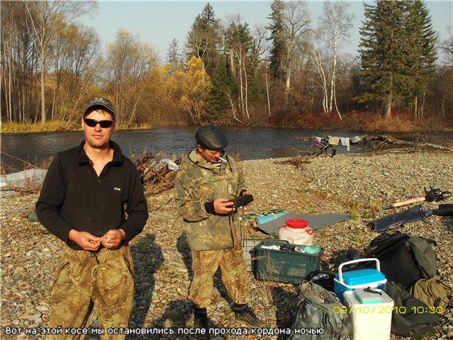 рыбалка на тумнине