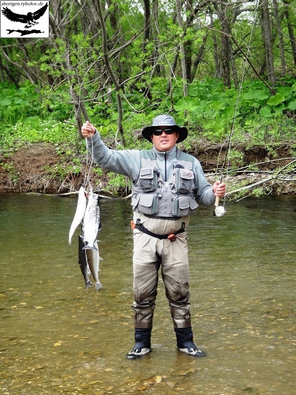весенняя рыбалка на сахалине
