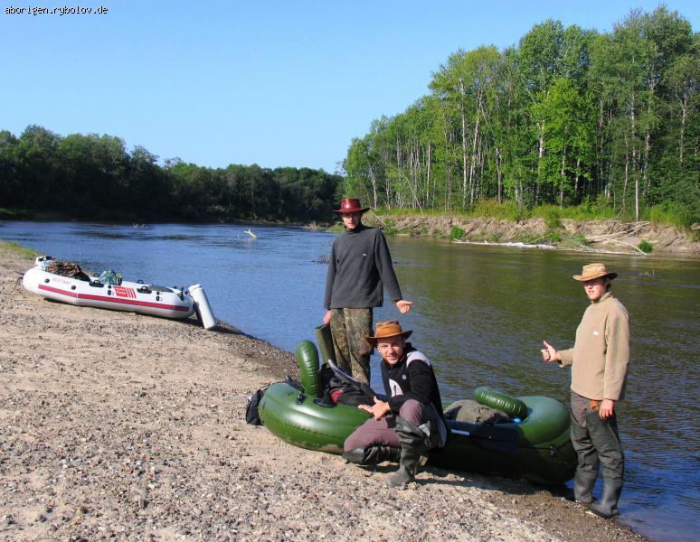 интересные сплавы по рекам с рыбалкой