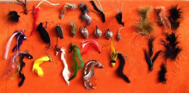 как ловить форель на мышиный хвост