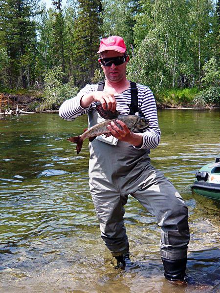 большой камень рыбалка